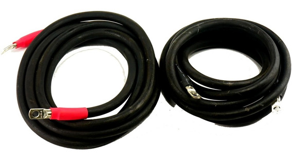 Kit Cable Bateria Panel Solar 1.5 Mts Ltc 50mm Armado Ojal