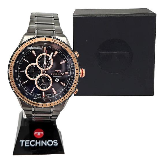 Relógios Sociais Fundo Escuro Com Cronógrafo E Nota Fiscal