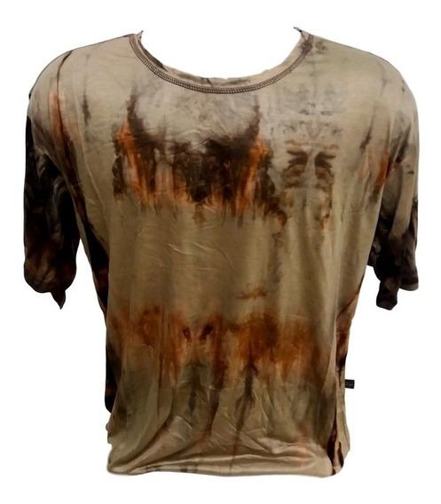 Camiseta Indiana Masculina Bata Malha Fria Tamanho Gg