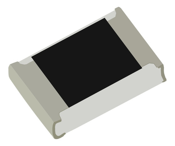 Kit 1000 * Resistores Smd 0805 5% 1/8w Diversos Valores