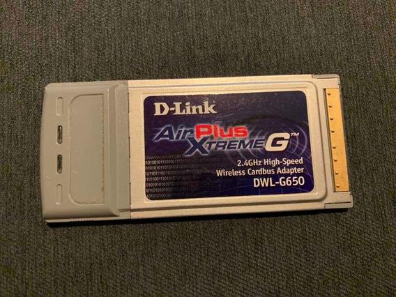 Placa Wifi Pcmcia D-link Airplus Xtreme G