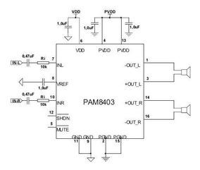 Mini Amplificador Classe D 2x3 Watss 5v Frete Gratis