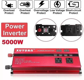 Inversor Xuyuan Red Pico 5000w 12v 110v 60hz Solar Pronta En