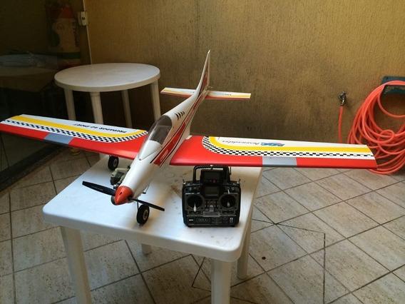 Troco Aeromodelo Predador 40 Em Osciloscópio Digital Colorid