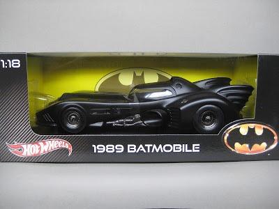 Batmovel Hotwheels 1/18 - Batmobile 1989 Batman