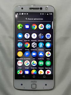 Celular Motorola Moto Z Xt1650-03 Con Moto Mod Jbl Es Att