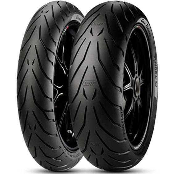 Par Pneu R 850 Rt 120/70r17 + 160/60r18 Zr Angel Gt Pirelli