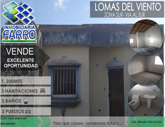 Venta De Casa Via Al Sur Ve02-008vs-bp