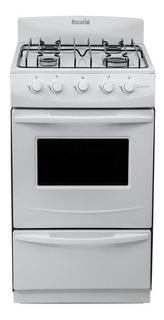 Cocina Escorial Candor Gas Natural Visor Parrilla Blanca
