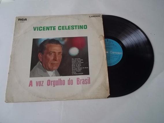 Lp Vinil - Vicente Celestino - A Voz Orgulho Do Brasil