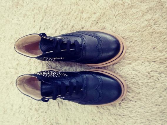 Zapatos Jane Jones Dama Botas Con Tachas