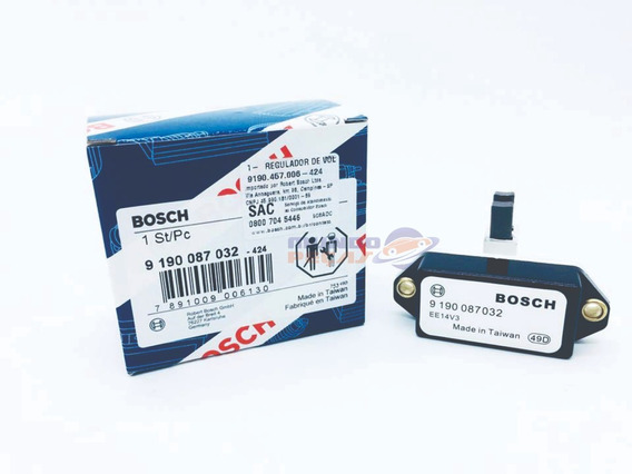 Regulador De Voltagem Bosch 9190087032 Vw Fiat Ford Gm