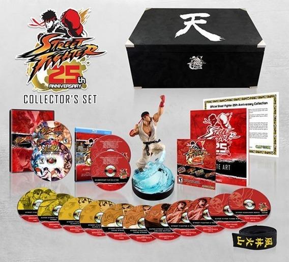 Street Fighter Edição Comemorativa De 25 Anos Lacrado
