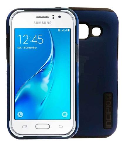 Case Forro Estuche Telefono Samsung J1 Ace Incipio Azul