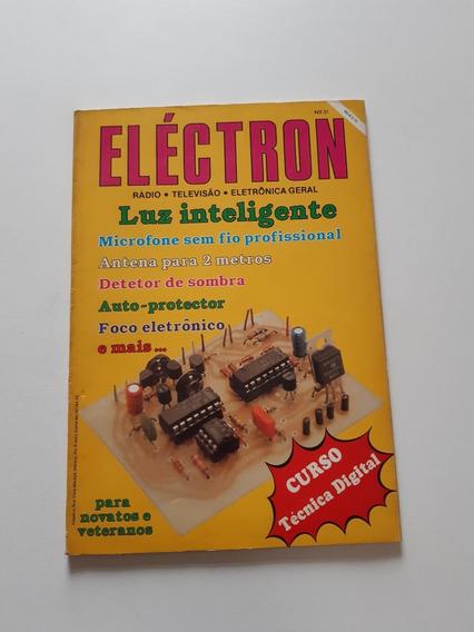 Revista Eléctron Luz Inteligente Microfone Sem Fio Cc298