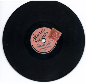 Hollywood Ramblers + Fred Bakers Melody Jazz Compacto 78rpm