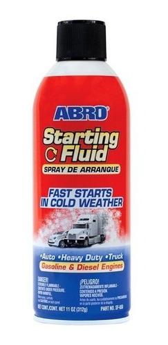 Imagen 1 de 2 de Spray Arranca Motores Diesel/nafta Abro 312grs