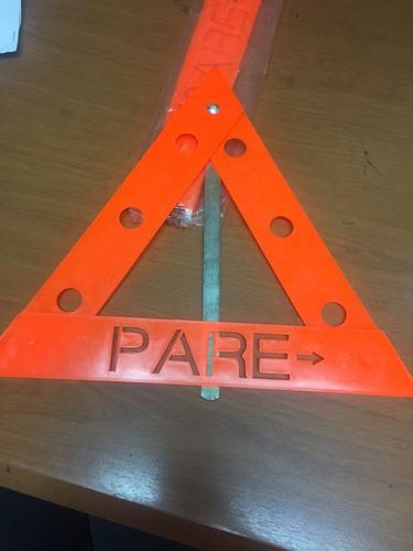Triangulo De Seguridad Reflectivo Para Vehiculos