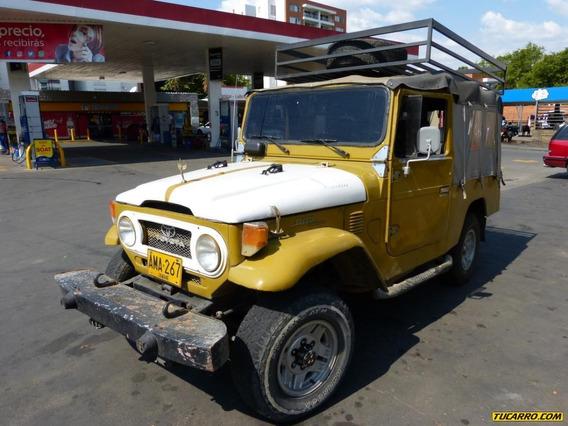 Toyota Fj 40 Mt 2400cc 4x4