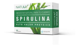 Spirulina X 60 Comp. Con Vitamina C Natuliv