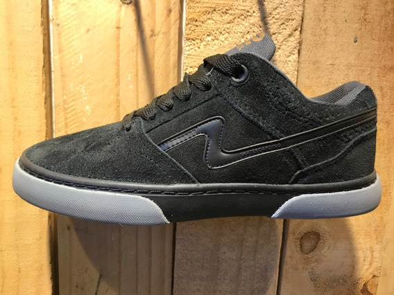 Zapatillas Urbanas/skater Spiral Shoes Pow 2020 Negro Gris