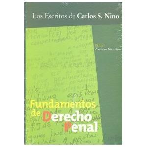 Fundamentos Del Derecho Penal, Carlos Nino, Ed. Gedisa