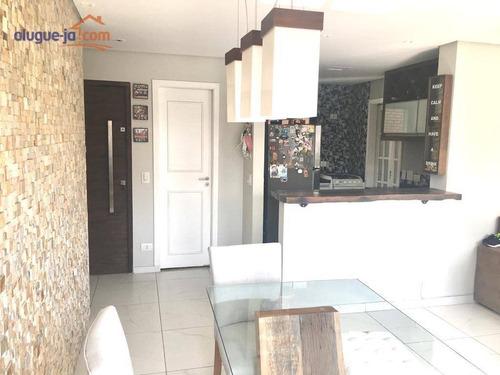 Apartamento Com 3 Dormitórios À Venda, 103 M² Por R$ 1.000.000 - Brooklin - São Paulo/sp - Ap11859