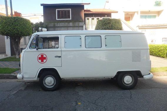Kombi Ambulância Karmann-guia