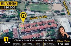 Casa En Venta Sobre Avenida La Salle O Canal Isuto