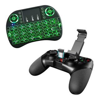 Controle Ipega Pg-9076 3in1 Android +teclado Led