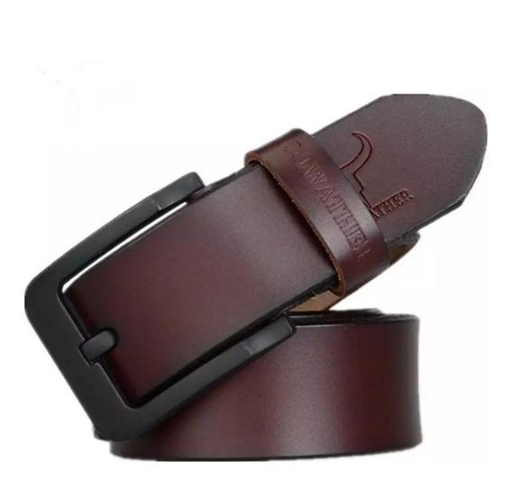 Cinturon Cuero Para Hombre (krafer Shop)