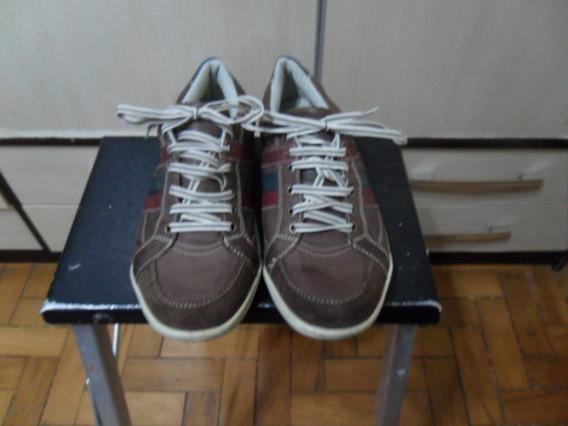 Sapatenis Spot Shoes Casual Tenis Masculino Couro Legítimo