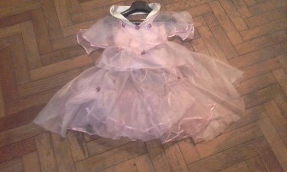 Vestido Estilo Princesa En Organza Cristal
