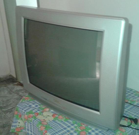 Tv Philips 29 Polegadas Usada Em Ótimo Estado - Funcionando