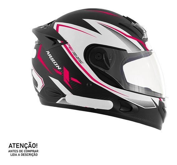 Capacete De Moto Mixs Mx2 Carbon X Brilhante - Linha 2019