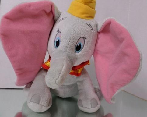 Pelúcia Elefante Dumbo Original Disney Store 30cms