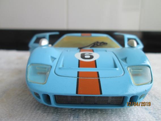 Miniatura Ford Gt 40 Majorette 1\24 Pneus De Borracha