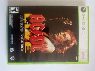 Rock Band Ac Dc - Juego Fisico Xbox 360