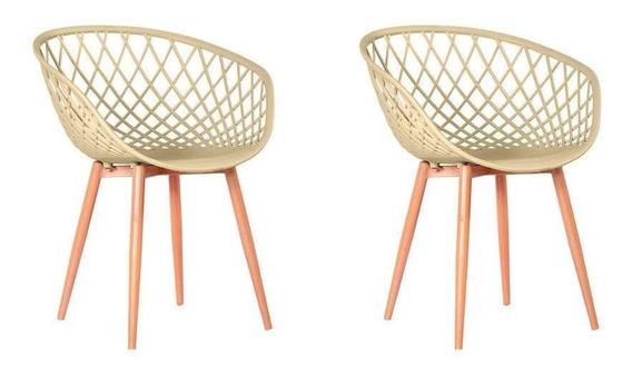 Conjunto Com 2 Cadeiras Sidera Fendi