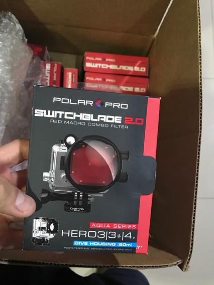 Filtro Polarpro Switchblade Gopro Hero3/3+/4 Até 60metros