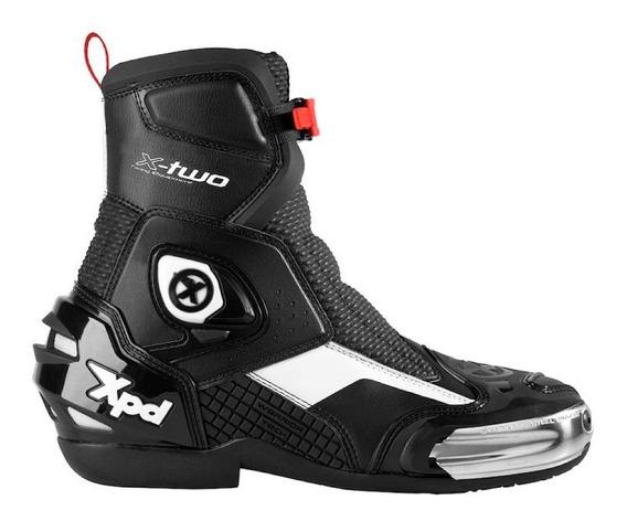 Bota Tecnica Moto Spidi X-two Caña Corta C/ Proteccion