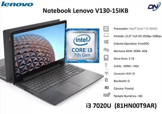 Notebook Lenovo V130   Core I3 7020u   4gb   1tb   15.6 81hn