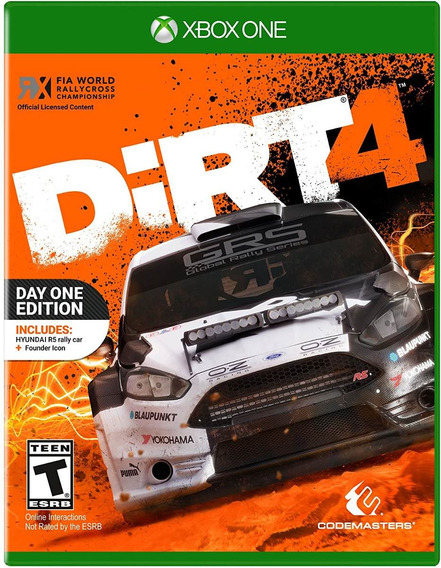 Dirt 4 Day One Edition - Xbox One - Nacional!