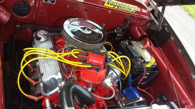 Ford Custom Line 1951 Hot Rod 302 V8 Opala Maverick F100