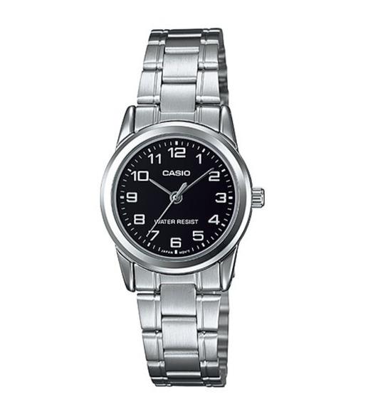 Relógio Casio Feminino Ltp-v001d-1budf Prata Original