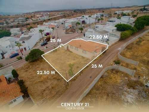 Terreno Con Casa De 1 Nivel En Venta En Baja Malibu Seccion Lomas En Playas De Rosarito Baja Califor