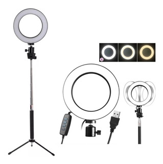 Kit Iluminador Led Circular 16cm Ring Light