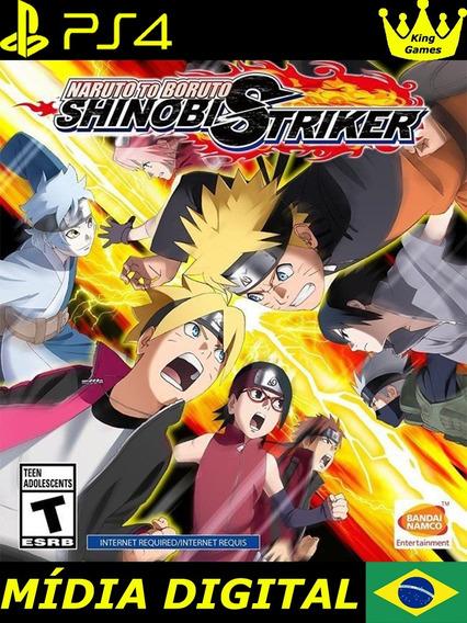 Naruto To Boruto: Shinobi Striker | Ps4 1 | Português
