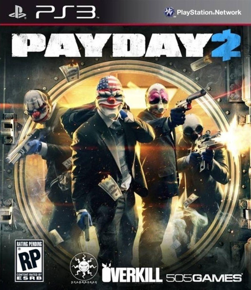Payday 2 Pay Day - Jogos Ps3 Playstation 3