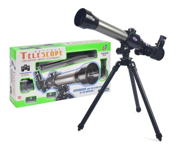 Astronômica Childrens Telescópio Toy Experiência Científica